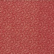 Moda French General Favorites - Bolt 4987 - Cream Floral on Red - Moda No. 13607 17 - Cotton Fabric